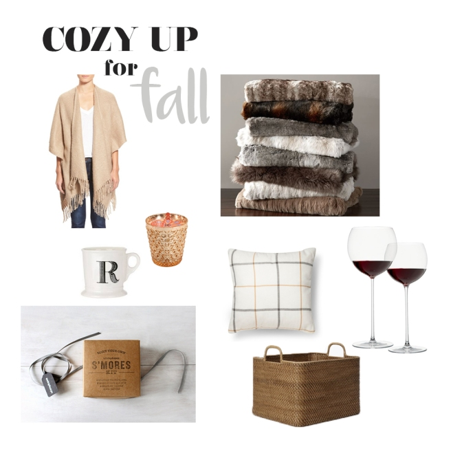 cozy up for fall